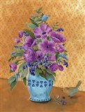 Violet Still Life