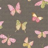 Wild Roses Butterflies