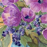Violets And Berries