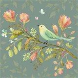 Bird In Wildflower Garden 101