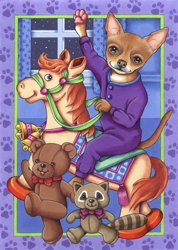 Chihuahua Toys Poster by Tomoyo Pitcher for $42.50 CAD