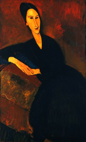 Anna Zborowska Arch Poster by Amedeo Modigliani for $97.50 CAD