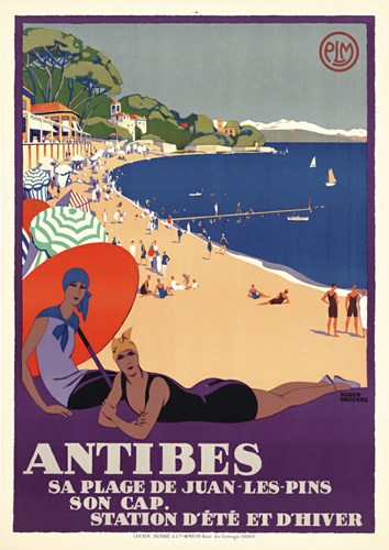 Antibes Poster by Vintage Apple Collection for $98.75 CAD