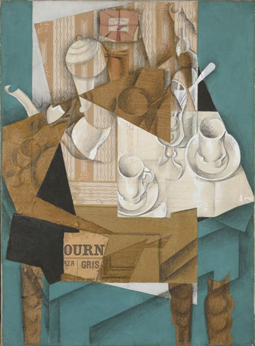 Breakfast Poster by Juan Gris for $96.25 CAD