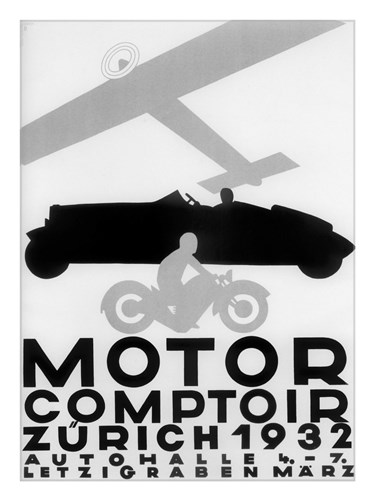 Motor Comptoir Poster by Vintage Apple Collection for $95.00 CAD