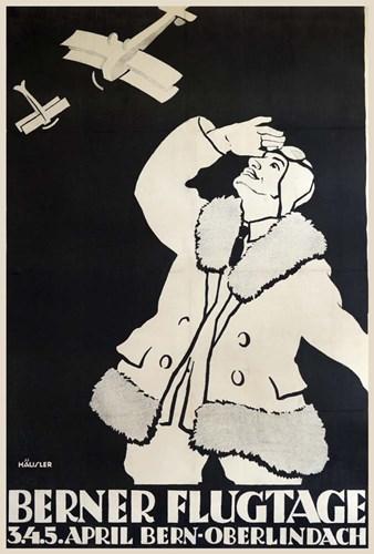Berner Flugtage Poster by Vintage Apple Collection for $43.75 CAD