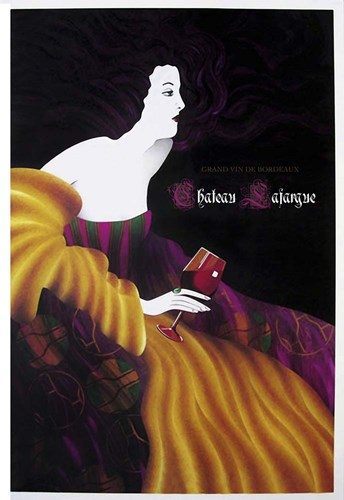Chateau Sajargen Poster by Vintage Lavoie for $43.75 CAD