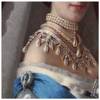 Maria Fyodorovna (Kramskoj1880s) Poster by Vintage Lavoie for $48.75 CAD