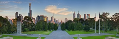 Melbourne Poster by Wayne Bradbury Photography for $67.50 CAD