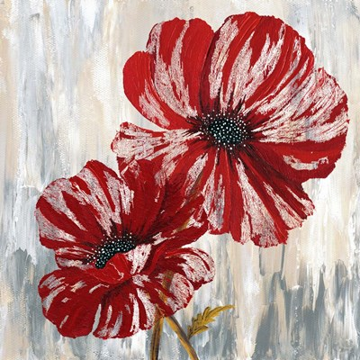 Red Poppies II Poster by Willow Way Studios, Inc. for $80.00 CAD