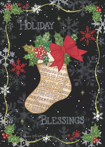 Holiday Blessings Poster by Annie Lapoint for $42.50 CAD