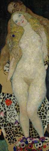 Adam And Eve, 1917 Poster by Gustav Klimt for $43.75 CAD