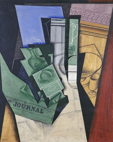 Breakfast (Le petit dejeuner) 1915 Poster by Juan Gris for $42.50 CAD