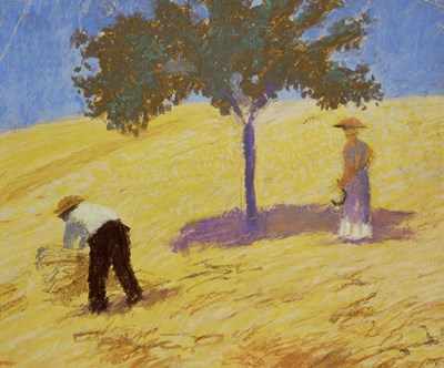 Baum Im Kornfeld - Tree In A Rye-Field, 1907 Poster by August Macke for $47.50 CAD