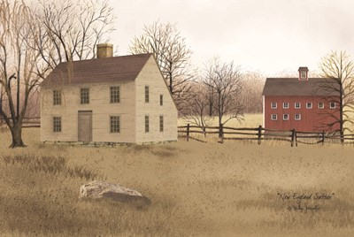 New England Saltbox Poster by Billy Jacobs for $43.75 CAD