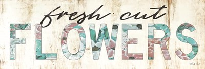 Fresh Cut Flowers Poster by Cindy Jacobs for $41.25 CAD