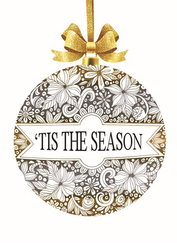 'Tis the Season Ornament Poster by Cindy Jacobs for $42.50 CAD