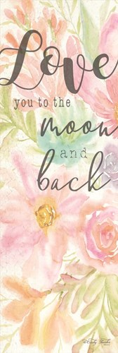 I Love You to the Moon and Back Poster by Cindy Jacobs for $41.25 CAD