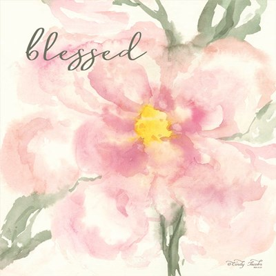 Floral Blessed Poster by Cindy Jacobs for $35.00 CAD