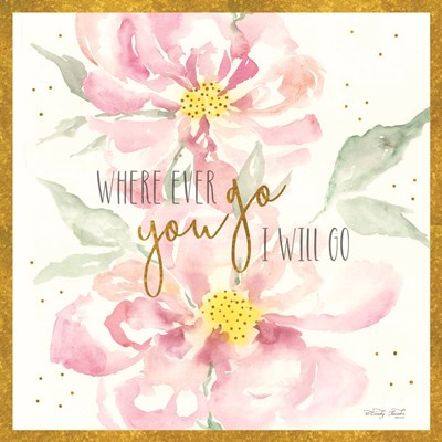Wherever You Go Poster by Cindy Jacobs for $56.25 CAD