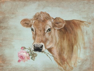 Miss Moo Poster by Debi Coules for $41.25 CAD