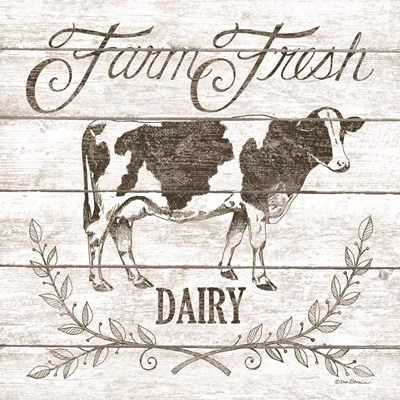 Farm Fresh Dairy Poster by Deb Strain for $35.00 CAD