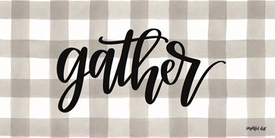Gather Poster by Imperfect Dust for $37.50 CAD