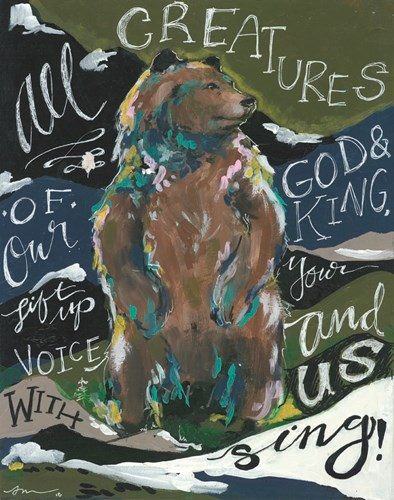 All Creatures Poster by Jessica Mingo for $40.00 CAD