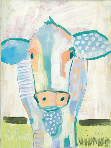 Moo Series:  Laverne Poster by Kait Roberts for $41.25 CAD
