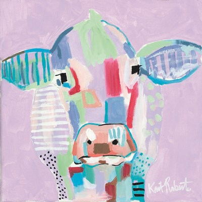 Moo Series:  Tilly Poster by Kait Roberts for $35.00 CAD
