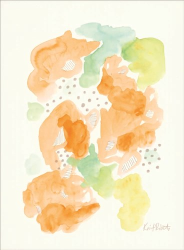 Honeydew & Cantaloupe Poster by Kait Roberts for $41.25 CAD