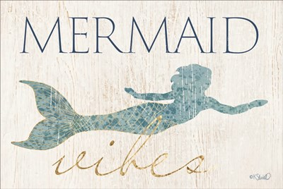 Mermaid Wishes Poster by Kate Sherrill for $43.75 CAD