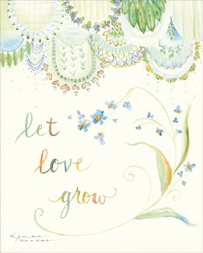 Let Love Grow Poster by Linda Arandas for $40.00 CAD