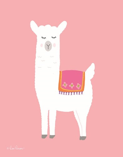 I Llama You III Poster by Lisa Larson for $40.00 CAD