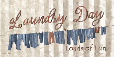 Laundry Day Poster by Lori Deiter for $52.50 CAD
