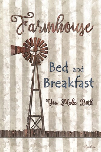 Farmhouse Bed & Breakfast Poster by Lori Deiter for $43.75 CAD