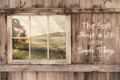 The Simple Things Poster by Lori Deiter for $43.75 CAD