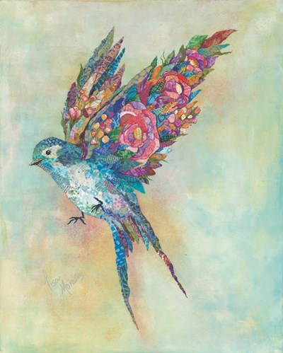 Botanical Swallow Poster by Lisa Morales for $56.25 CAD