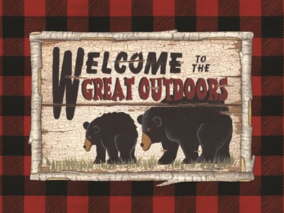 Plaid and Bears Poster by Linda Spivey for $41.25 CAD
