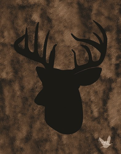 Woodland Buck 3 Poster by Mamabird Prints for $40.00 CAD