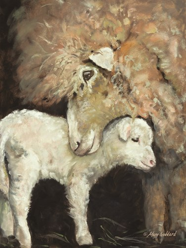 Love Ewe Poster by Mary Goddard for $41.25 CAD