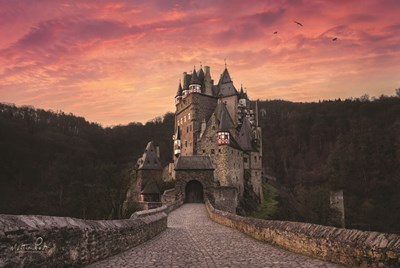 Burg Eltz Poster by Martin Podt for $43.75 CAD