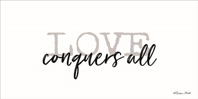 Love Conquers All Poster by Susan Ball for $37.50 CAD