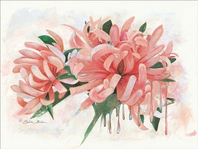 Fleur Artistique Poster by Sheila Elsea for $41.25 CAD