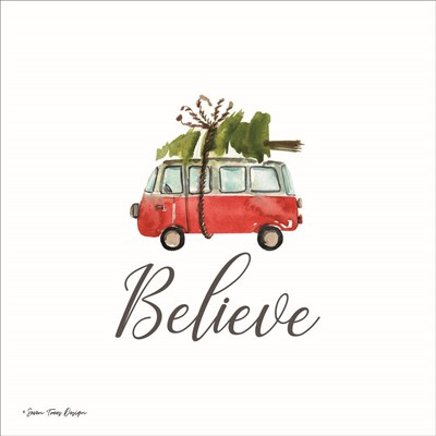 Believe Poster by Seven Trees Design for $35.00 CAD
