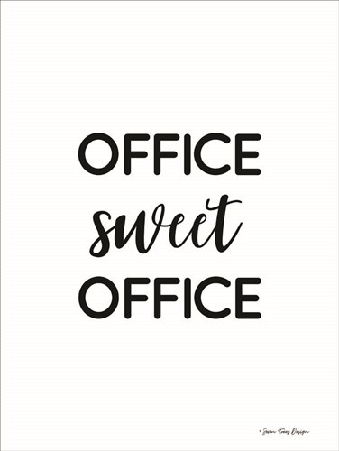 Office Sweet Office Poster by Seven Trees Design for $41.25 CAD