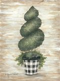 Gingham Topiary Spiral