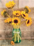 Country Sunflowers I