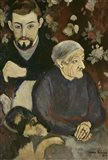 Utrillo with his Grandmother and Dog, 1910