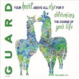 Guard Your Heart Llamas